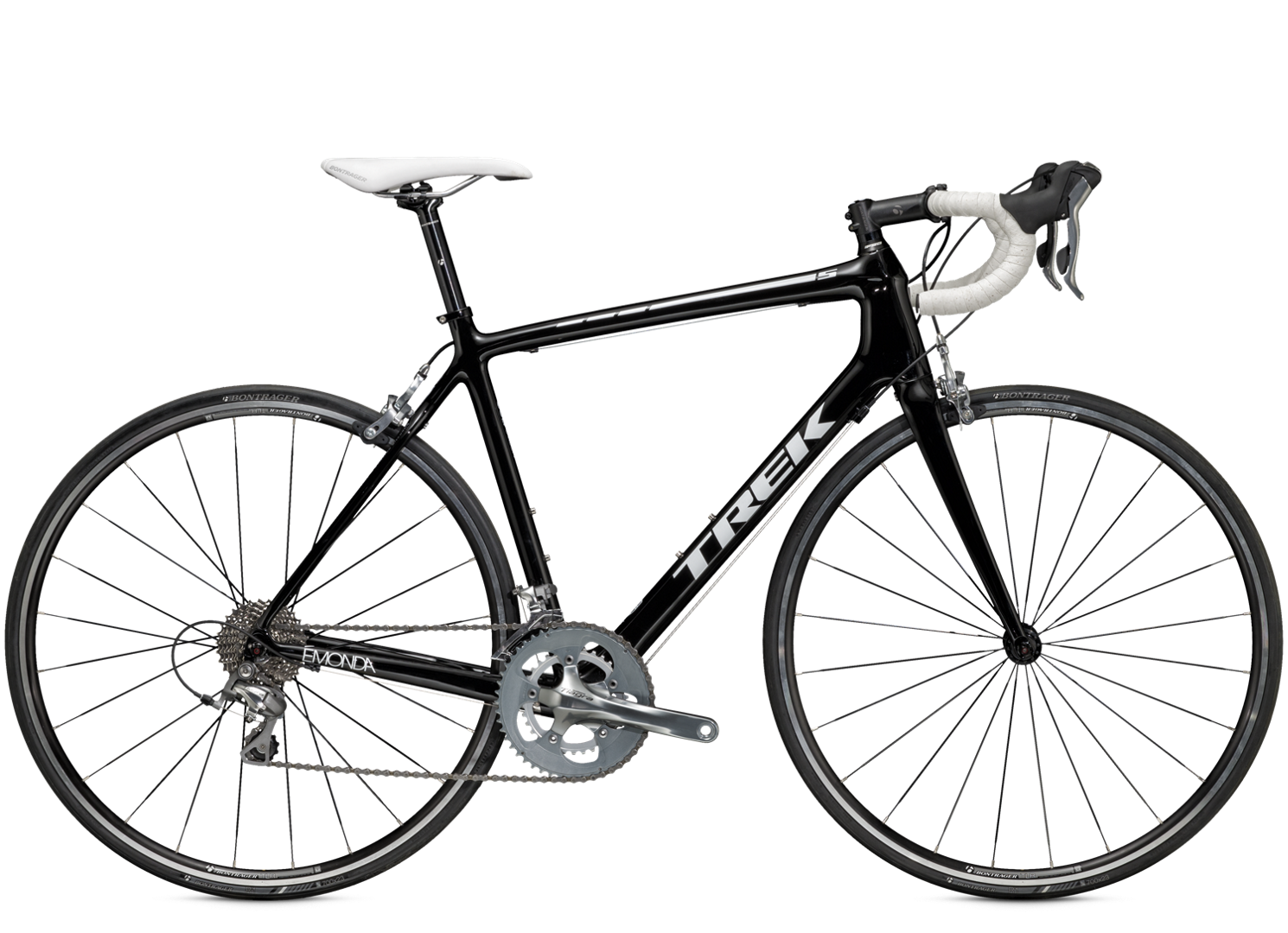 Trek's lightest production road line ever Every detail of the Emonda line, from frame design to each component choice on every model, serves the same audacious goal: to create the lightest line of production road bikes ever offered.